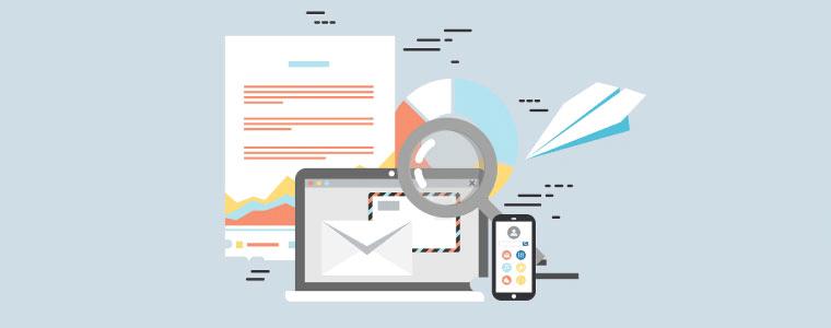 分析とメール