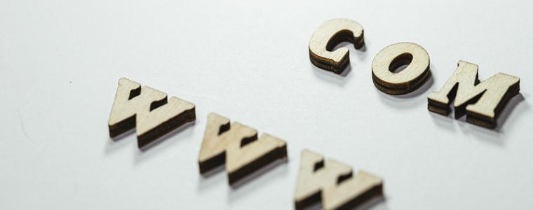 アルファベットのCOMとwww